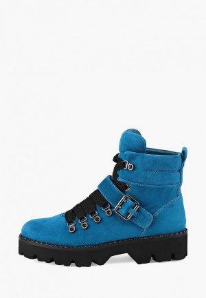 Ботинки Alla Pugachova. Цвет: синий