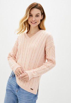 Пуловер Auden Cavill. Цвет: розовый