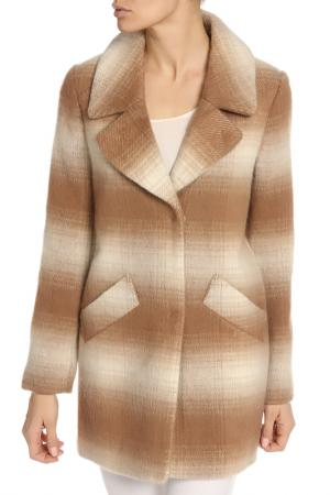 Пальто Jessica Simpson. Цвет: бежевый