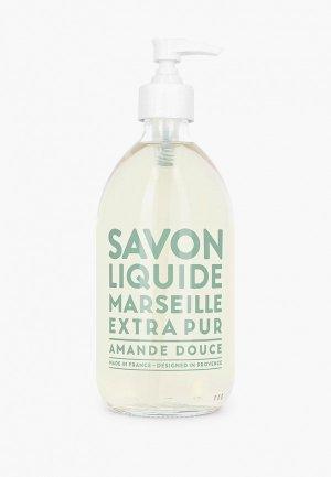 Жидкое мыло Compagnie de Provence Sweet Almond, 500 мл. Цвет: прозрачный