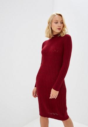 Платье Baon. Цвет: бордовый