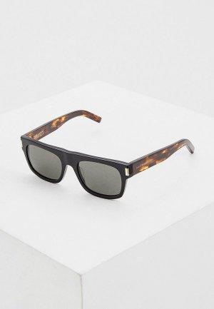 Очки солнцезащитные Saint Laurent SL 293 002. Цвет: коричневый