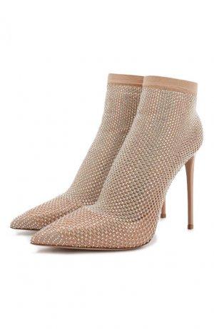 Кожаные туфли Queen Le Silla. Цвет: розовый