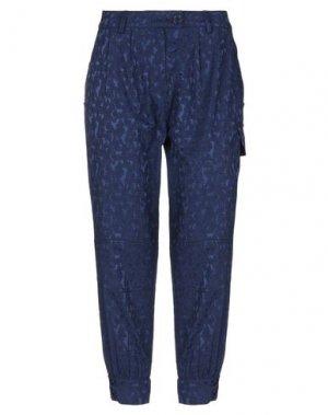 Повседневные брюки I'M ISOLA MARRAS. Цвет: синий