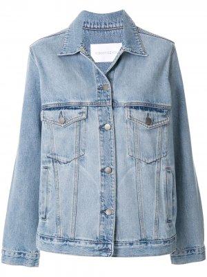 Джинсовая куртка Lou Nobody Denim. Цвет: синий