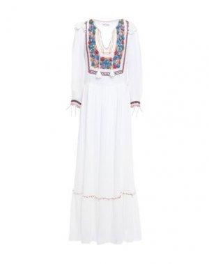 Длинное платье ANTIK BATIK. Цвет: белый