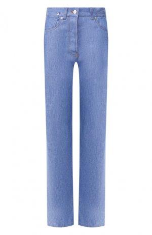 Джинсы прямого кроя Dries Van Noten. Цвет: синий