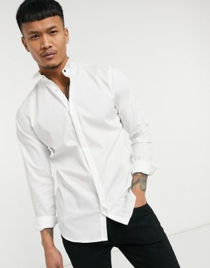 Белая рубашка под смокинг Premium-Белый Jack & Jones