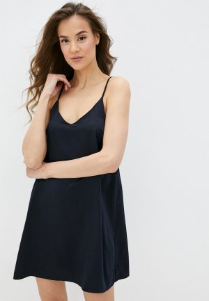 Сорочка ночная Sela. Цвет: черный