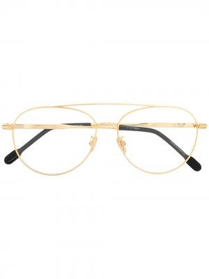 Солнцезащитные очки-авиаторы Force 10 Fred. Цвет: золотистый