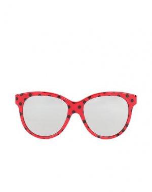 Солнечные очки DOLCE & GABBANA. Цвет: красный