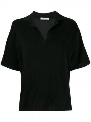 Рубашка поло свободного кроя The Row. Цвет: черный