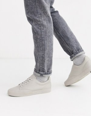 Кремовые кожаные кроссовки -Кремовый Boxfresh