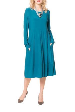 Платье Kata Binska. Цвет: бирюзовый