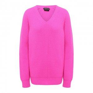 Кашемировый свитер Tom Ford. Цвет: розовый