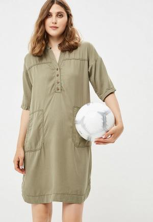 Платье Betty & Co. Цвет: хаки