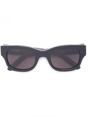 Солнцезащитные очки в квадратной оправе Type 06 Sun Buddies. Цвет: чёрный