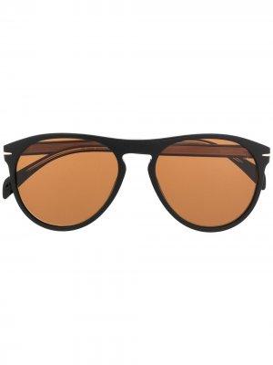 Солнцезащитные очки DB 1008/S Eyewear by David Beckham. Цвет: черный