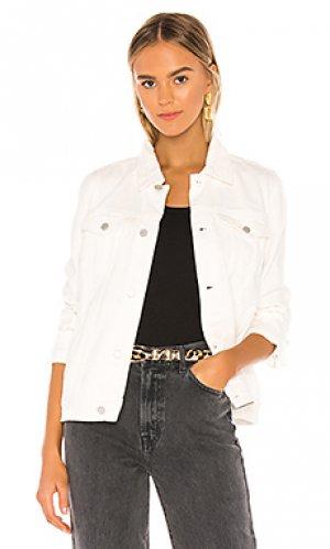 Джинсовая куртка BLANKNYC. Цвет: белый