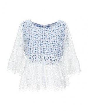 Блузка ANNA SUI. Цвет: белый