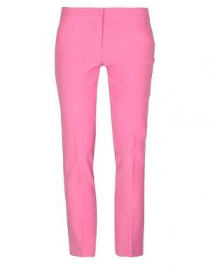 Повседневные брюки DANIELA DREI. Цвет: фуксия