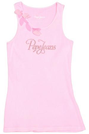Майка Pepe Jeans. Цвет: розовый