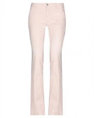 Джинсовые брюки CARE LABEL. Цвет: пастельно-розовый