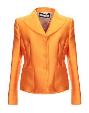 Пиджак AQUILANO-RIMONDI. Цвет: оранжевый
