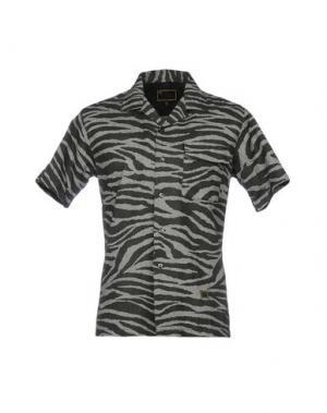 Pубашка FRESHJIVE. Цвет: серый