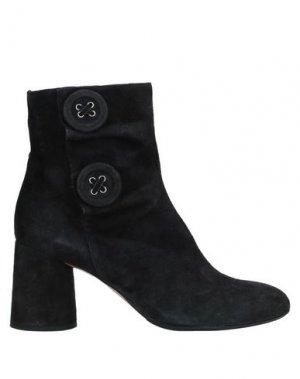 Полусапоги и высокие ботинки ANNA F.. Цвет: свинцово-серый