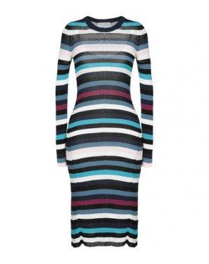 Платье до колена ALTUZARRA. Цвет: лазурный