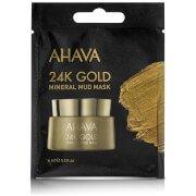 Single Use 24K Gold Mineral Mud Mask 6ml AHAVA