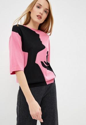 Джемпер Boutique Moschino. Цвет: розовый