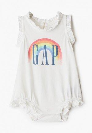 Боди Gap. Цвет: белый