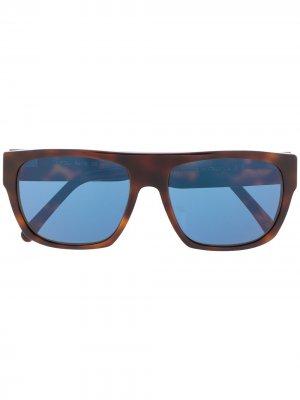 Солнцезащитные очки Tripoli Havana в квадратной оправе L.G.R. Цвет: коричневый