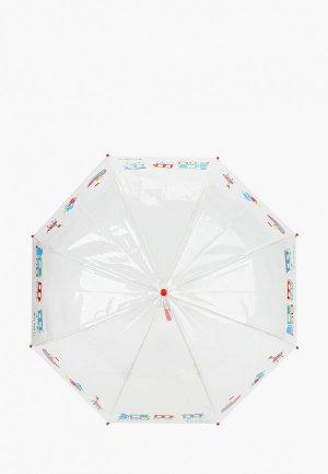 Зонт-трость Flioraj. Цвет: белый