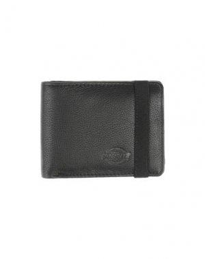 Бумажник DICKIES. Цвет: черный