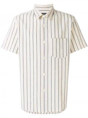 Рубашка в полоску A.P.C.. Цвет: бежевый