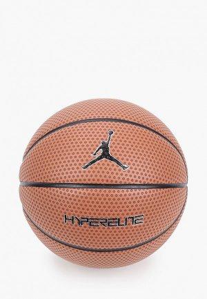 Мяч баскетбольный Nike JORDAN HYPER ELITE 8P 07. Цвет: коричневый