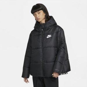 Женская куртка Sportswear rma-FIT Repel (большие размеры) - Черный Nike