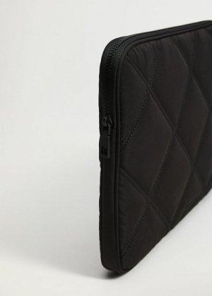 Стеганый чехол для ноутбука - Grecia Mango. Цвет: черный