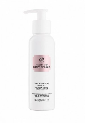 Пилинг для лица The Body Shop Drops of Light, 145 мл. Цвет: белый