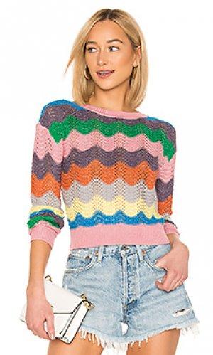Пуловер you rock Lovers + Friends. Цвет: розовый