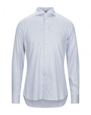 Pубашка CANALI. Цвет: белый
