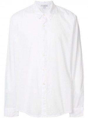Классическая рубашка James Perse. Цвет: белый