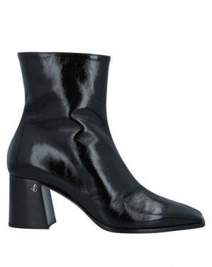 Полусапоги и высокие ботинки JIMMY CHOO. Цвет: черный