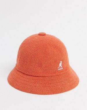 Оранжевая панама -Оранжевый Kangol