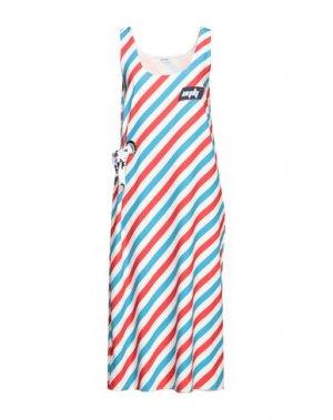 Платье длиной 3/4 AU JOUR LE. Цвет: красный