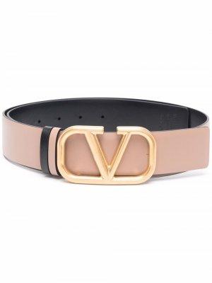 VLogo Signature reversible belt Valentino Garavani. Цвет: нейтральные цвета