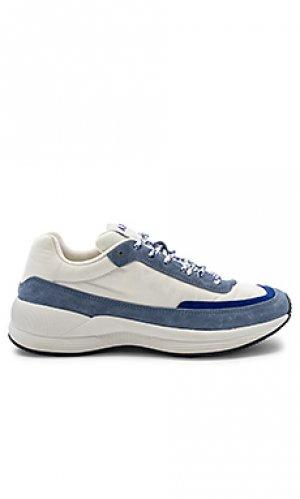 Кроссовки running femme A.P.C.. Цвет: синий
